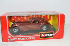BBURAGO BURAGO 0503 503 BUGATTI ATLANTIC 1936 METALLIC BROWN MINT BOXED