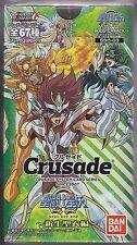 Crusade Card Game Saint Seiya Omega Part 3 New Cloth Chapter Booster Sealed Box