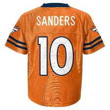 (2018-2019) Denver Broncos EMMANUEL SANDERS nfl Jersey YOUTH KIDS BOYS (s-small)