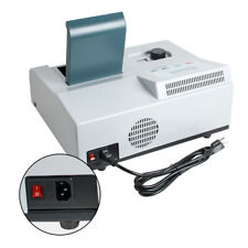 New ListingFda Visible Spectrophotometer Digital Lab Photometer Tungsten Lamp Equipment Usa