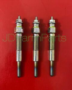 3 Ford Tractor Glow Plug Plugs 1620 1530 1630 1710 1715 1720 1725 1910 1925 1990