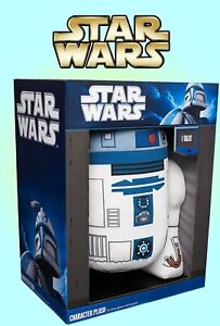 R2-D2 Character Plush 15 Inch Plush with Sound - Stuffed Talking Robot