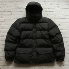 Vintage 90s North Face Puffer Quilted Down Parka Jacket Size M Himalayan Black