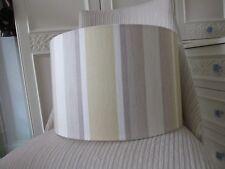 Handmade Drum Lampshade Laura Ashley Awning Stripe - 40cm diameter