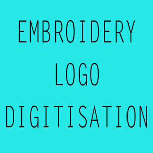 Embroidery Logo Digitisation - For Chest Logo Only