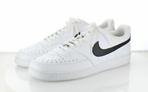 50-60 MSRP $110 Men's Sz 14 M Nike Air Force 1  Leather Low Top Sneaker - White