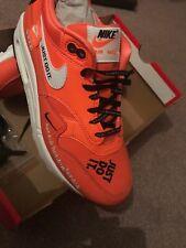 Nike Air Max 1 Lx JDI Over branded Orange AM1 Uk 5 Eu 38.5 OG DS💯