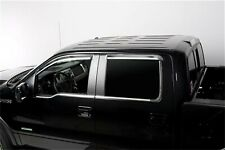 Putco Window Trim-Stainless Steel For 09-13 Ford F-150 Super Crew #97504