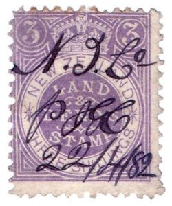 (I.B) New Zealand Revenue : Land & Deeds 3/-