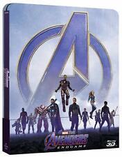 Steelbook AVENGERS Endgame (BLU-RAY 3D + Blu-ray + Bonus Disc) MARVEL