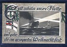 Ansichtskarte Patriotika (Weihnachten) Gott Schütze unsere Flotte - 00467