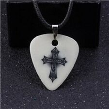 Cross Christian Jesus 1.0 MM Guitar Pick Necklace Free Tracking US Seller New