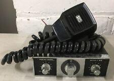 Realistic Mini-40 CB Transceiver Radio 40 CH TRC-466