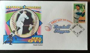 """PANDA 4082 Baseball Slugger Mel Ott New York Giant """"Masterful Melvin"""""""