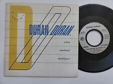 DURAN DURAN Is there something i should know ? 2c00865089 FRANCE Discotheque RTL