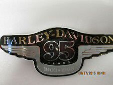 Harley Davidson 95th Anniversary Tank Medallion 62065-98 New Left side