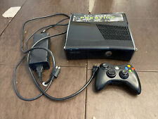 Microsoft Xbox 360 S Slim Black Console Only Model 1439 Tested