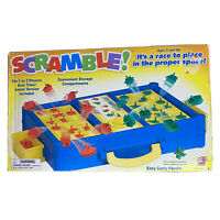 Scramble Shape Sorting Board Game With A Twist Junior Version Inc 100% Complete