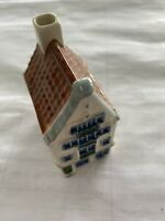 Handpainted Holland Herengracht House No Unknown Amsterdam Used Delft
