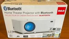 BRAND NEW RCA Home Theater LED Projector With Bluetooth RPJ104-B ** 37% Off List
