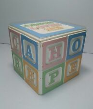 Music Box, Jesus Loves Me, Baby Lullaby Nursery Building Blocks