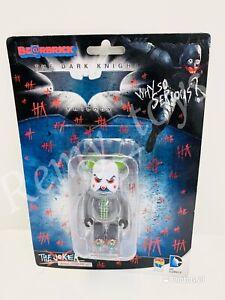 Medicom 100% Bearbrick  DC Comics The Joker Be@rbrick Bank Robber Ver Batman NIB