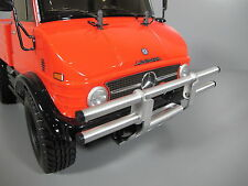 Alum Front Bumper Guard Protector Bar Tamiya 1/10 CC01 Pajero Jeep Bronco Unmiog