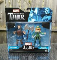 MARVEL LEGENDS THOR EXECUTIONER Vs ENCHANTRESS ACTION FIGURES HASBRO BRAND NEW