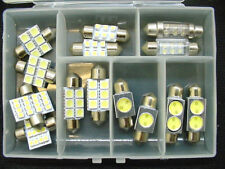 15x Cool White Interior Courtesy Dome Light Bulbs Festoon Lamps LEDs Kit Chevy