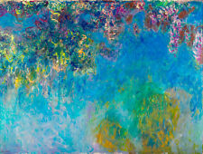 Wisteria by Claude Monet A1+ High Quality Art Print