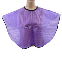 Salon Women Hairdressing Cape Waterproof Hairdressing Oil-proof Anti-static WE