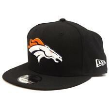 New ERA 9Fifty NFL Denver Broncos Logo Sideline Snapback Hat Cap Black