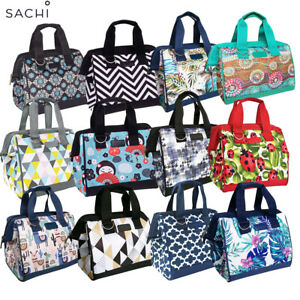 Sachi Insulated Lunch Bag Carry Tote Storage Travel Bag