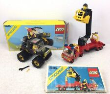 Lego Classic Town Fire Set 6690 Snorkel Pumper W Instructions + 6675 W Box Instr