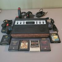 Tele-Games 2600 Light Sixer - Atari 2600 Controllers, Power Adapter BOX! Games