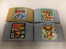 N64 NFR NOT FOR RESALE Donkey Kong Mario Party Pokemon Stadium Banjo-Tooie