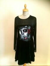 Day Of The Dead Dress  size 12  By Spiral  New With Tags