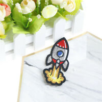 rocket cloth badges diy embroidered iron/sewing on patches for clothes_ti
