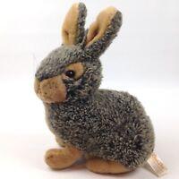 Plush Stuffed Animal Bunny Rabbit Dan Dee Brown Gray Dandee Collectors Choice