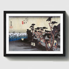 Hiroshige Antique (Pre-1900) Art Prints