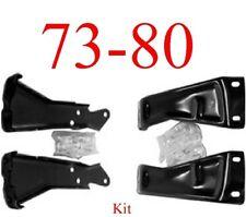 73 80 Chevy Rear Bumper Bracket Kit With Bolts, GMC Truck, Suburban, Blazer