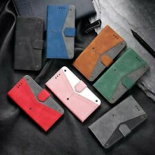 Retro PU Leather Wallet Phone Case Cover For Samsung S20 S9 S21 A21S A42 A71 A51
