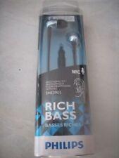 Philips - SHE3905BL/00 - In-Ear-Kopfhörer mit Mikrofon - blau - Neu / OVP