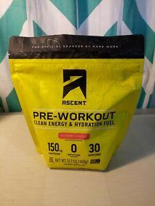 Ascent Native Fuel - Preworkout Raspberry Lemonade 12.7 OZ Drink Mix