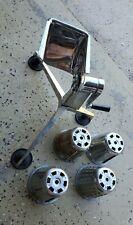 Vtg Saladmaster Food Processor Chopper Cutter Shredder Slicer 4 cones