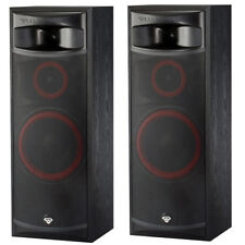 Cerwin-Vega XLS-12 12in 3 way Floor Tower Speakers Home Theater Set - Pair