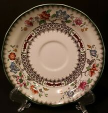 Spode CHINESE ROSE Scalloped Saucer For Flat Cup EXCELLENT