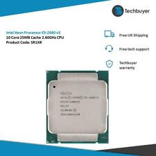 Intel Xeon Processor E5-2660 v3 10 Core 25MB Cache 2.60GHz CPU - SR1XR