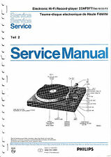 Service Manual Instructions for Philips 22 Af 977