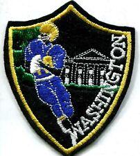 FOOTBALL AMERICAIN Washington joueur tenue bleue écusson / patch 9x7.5 cm